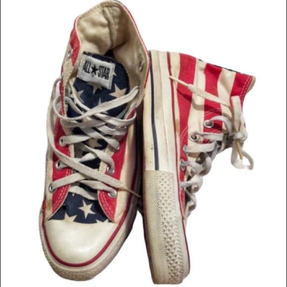 Converse Chuck Taylor American Flag Hi Tops